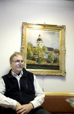 """Tvingas spara. """"Det finns ingen väg tillbaka"""", säger Bengt-Åke Gustafson som räknar med att kyrkan i Gävle måste skära bort mint 10 miljoner kronor under de närmaste åren."""