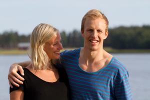 Dina Bjørgo och Mikael Sundberg har varit mer eller mindre oskiljaktiga sedan de träffades.