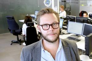 Carl-Johan Bergman, chefredaktör och ansvarig utgivare för DT.