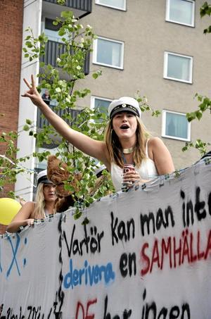 Studentfirande i Hallsberg