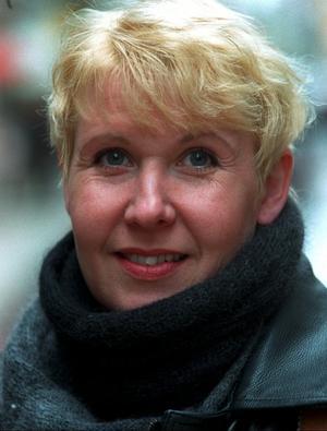 Susanne Alfvengren på en bild från 1995.Foto: Scanpix