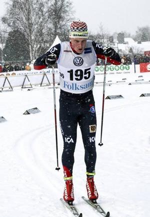 Jens Burman, Åsarna (och Rätan) är bara junior men blev 12:a bland alla seniorerna och var tillsammans med klubbkompisarna nära lagguld. Silver blev det i alla fall.