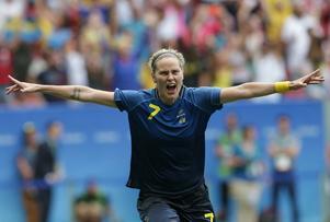 Lisa Dahlkvist satte den avgörande straffen när Sverige besegrade USA.