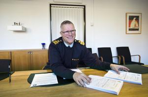 Per Ågren, polisområdeschef i Gävleborg, säger att Prideparaden är väldigt viktig för polisen.