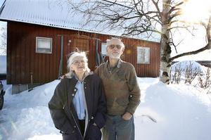 Arne Lignell och Maj-Britt Ekström bor i Odenskog sedan 1961.