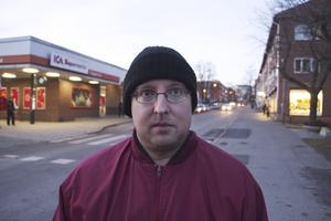 Thomas Engström, 38 år, bor i Fagersta: – Det är att jag mår bra och har hälsan.