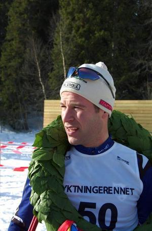 Anders Högberg heter segraren av 2009 års Flyktinglopp i Gäddede. Umeåkaren vann överraskande före Jerry Ahrlin och Oscar Svärd.