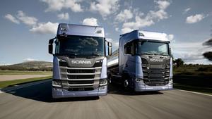 Scanias nya lastbil som presenterades den 23 augusti.
