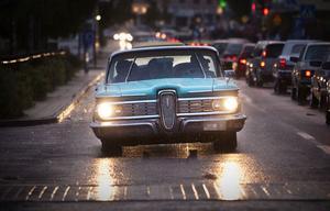 Det var många fina bilar som cruisade genom köpingen på lördagskvällen.
