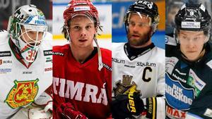 Christian Engstrand, Jonathan Dahlén, Christian Sandberg och Victor Ejdsell är alla kandidater i olika Guldtröjan-kategorier.