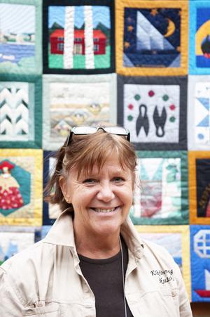 Mari-Anne Castenvik är nöjd med dagarna i Falun som både lockade många medlemmar och besökare.