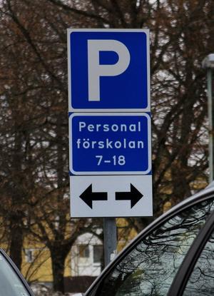 Ny personalparkering.