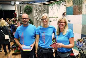 Roger Frisk, Susanne Näs och Camilla Westlund, Hede Färg & Måleri, hade mässan bästa monter.