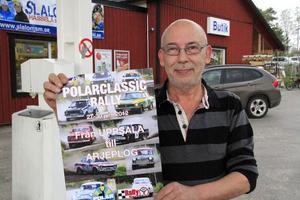 Hittills har ett 80-tal ekipage, bilar av årsmodeller 1957 - 81, anmält sig.– Rallysträckan närmast Hassela blir vägen mellan Anderbo/Bricka och Bygget/Furuberg, berättar Örjan Lax.