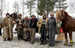 Janne Falck, Pontus Tovagård, Vreni Haak, Thomas Johansson, Seija Arnström, Anna-Lena Roos Bäckman.