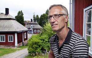Tommy Elmertoft är föreståndare på Malingsbo Rehabcenter. Foto: Helena Wedin/DT