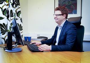 Fredrik Rönning, (S), kommunalråd i Smedjebacken, är belåten med kommunstyrelsens bokslut för 2016.