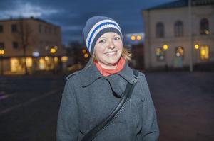 Alexandra JuliussonÖrebro– Vet inte riktigt vad jag ska säga. Det måste väl finnas roligare julklappar.