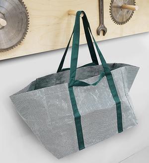 Den nya Ikeapåsen har fått  nytt mönster och ny färg. Design: Mette Hay