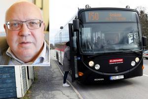 Thomas Hägg hoppas att turnén ska ge underlag för handlingskraftiga åtgärder inom Länstrafiken.