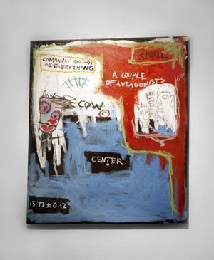 """Amerikansk bildvärld. Påtagligt New York-inspirerad är Carl Sundberg. Här """"Skull""""."""