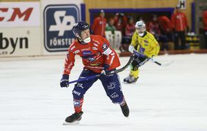 Jonas Edling – matchvinnare med sina tre mål.
