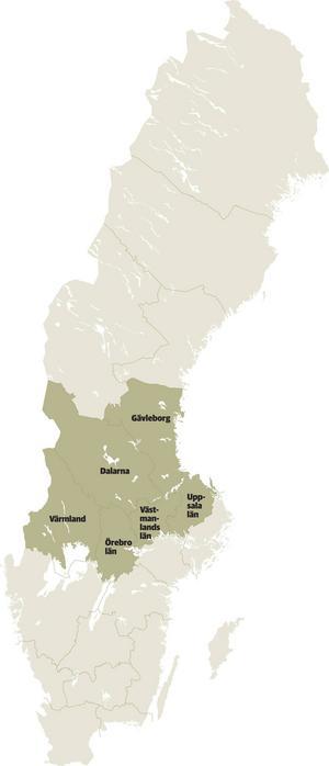Enligt förhandsspekulationerna kommer Gävleborg tillhöra en Svealandsregion tillsammans med Dalarna, Uppsala län, Västmanland, Örebro län och Värmland.