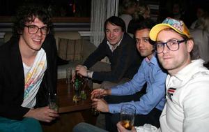 Tabazco. Daniel, Valentino, Soheil och Christian