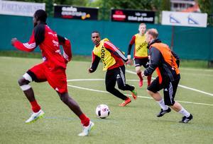 Even Hadgo kan bli en viktig spelare för Sala FF i helgens derby.