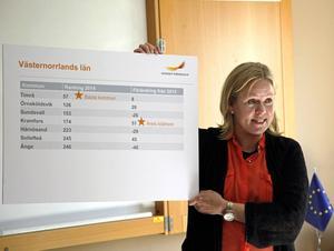 Anna Hedensjö Johansson, regionchef Svenskt Näringsliv Västernorrland, förklarade Kramfors framgång.