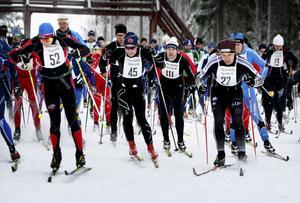 52 Anders Widegren, Mälarö SOK, Tom Ankerstål, Hybo AIK, 111 Ola Jädeborg, SK Leksand, 27 Stefan Ekman, Strömsbergs IF