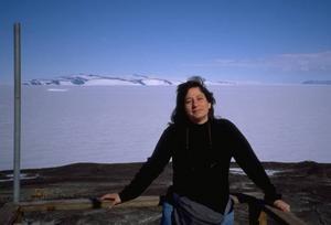 Dr Susan Solomon ledde en expedition till Antarktis för att utforska det livsviktiga stratosfäriska ozonskiktet över Antarktis.Foto: Volvo
