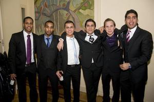Aram Jamil, Axel Morén, Daniel, Max Brofelt och Mario Balotelli ville alla bli balens kungar.