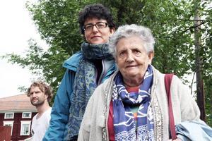 Silvia Kunitz kommer ursprungligen från Italien och bor i Stockholm. Hon och Maria Vittoria Caimi från Italien ville besöka några världsarvsgårdar.