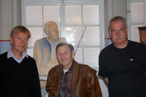 Teamet. Stig Olsson, Wille Toors och Sebastian Jakobsson.