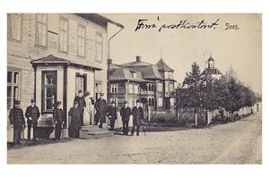 Stora hotellet blev hyresvärd för det överordnade postkontoret.