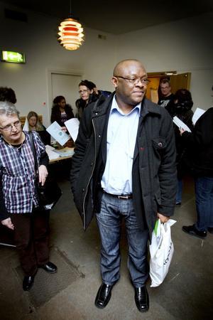 Wellington Ikuobase, ny ordförande för LO-facken i Gävle.