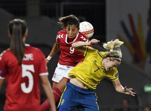 Landskampen mellan Danmark och Sverige riskerar att ställas in. Danmark kan till och med diskas från VM-kvalet.