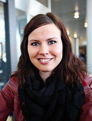 Ulrika Andersson, 26, Aborrholmberget, idrottsvetenskapsprogrammet:– Jag vill ha ett roligt jobb!