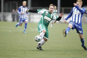 Målskytten Daniel Sjödahl.