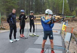 Landslagsmannen Tobias Arwidsson testade banorna i Sveg förra sommaren och han lovordade terrängen kring skidstadion.