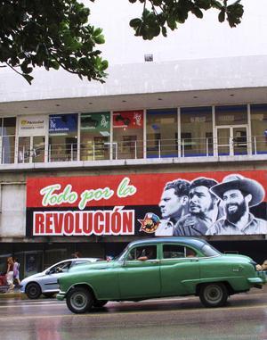 Havanna. Revolutionen är ständigt närvarande på Kuba.