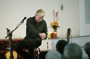 Mats Klingström laddade berättelsen om Res-Måns med mycket värme och inlevelse.