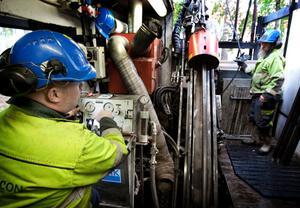 Drillcons borrningar vid och under Väsman ser ut att kunna bli en framgång för Nordic Iron Ores järnmalmsprojekt i Ludvika