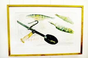 Först ut av konstnärerna är Göran Strandow som har vernissage på sin utställning under torsdagen. Hans utställning består av akvarell och oljemålningar.