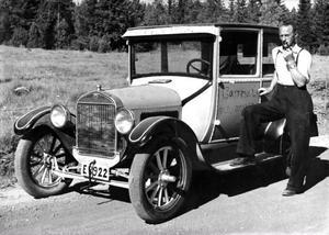 T-forden, den första massproducerade bilen.