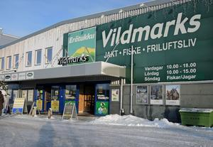 Erätukku Vildmarks stänger butiken på Kupolenområdet i Borlänge.
