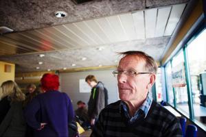Rolf Eriksson, ordförande i Djurskyddet Jämtlands län, gladdes åt det stora intresset för Djurens dag.