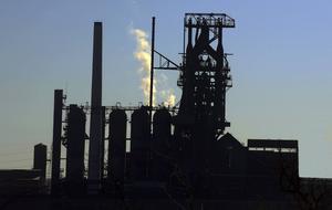 AM Warren Coke Plant utanför Youngstown är det enda stålverket som finns kvar i Mahoning Valley där det som mest fanns tjugo stålverk.