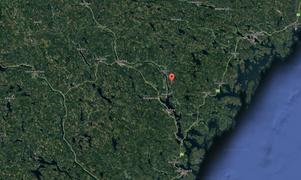 Björnen sköts i Myckelby, i Kramfors kommun.